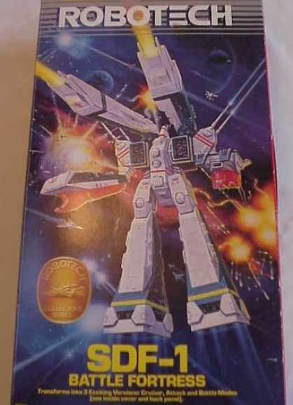 Action Figure Boxes - Robotech SDF-1 Battle Fortress