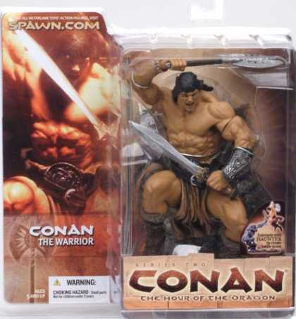 Action Figure Boxes - Conan the Warrior
