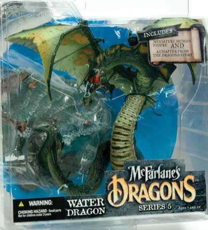 Action Figure Boxes - Water Dragon