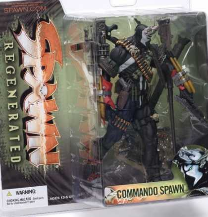Action Figure Boxes - Commando Spawn