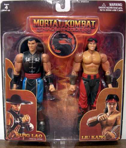 Action Figure Boxes - Mortal Kombat: Kung Lao and Liu Kang