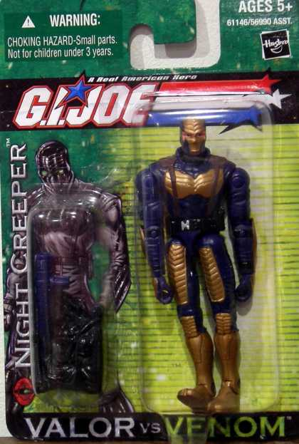 Action Figure Boxes - G.I. Joe: Night Creeper