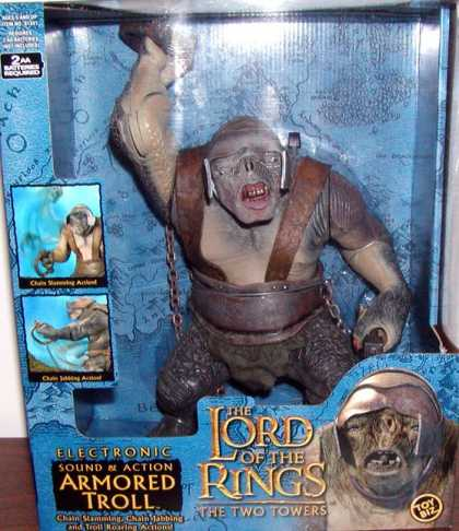 Action Figure Boxes - Lord of the Rings: Armored Troll