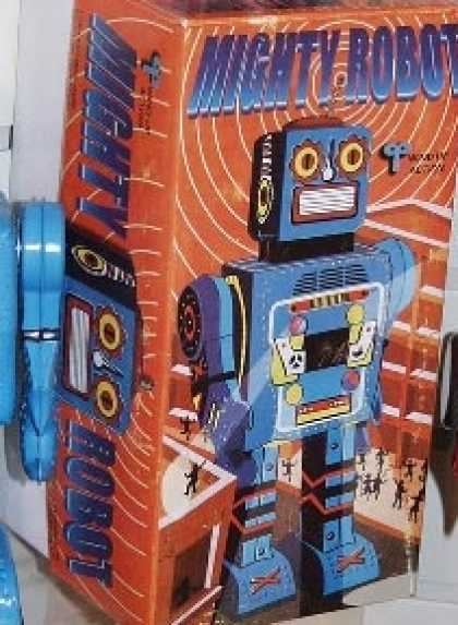 Action Figure Boxes - Mighty Robot