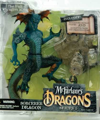 Action Figure Boxes - Sorcerer Dragon