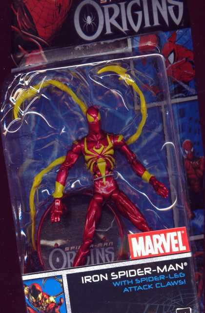 Action Figure Boxes - Iron Spider-Man