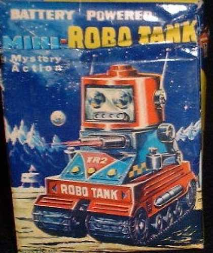Action Figure Boxes - Mini-Robo Tank