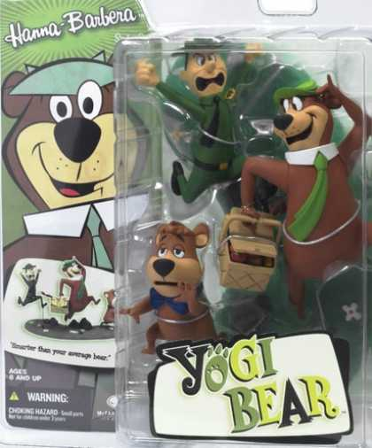Action Figure Boxes - Yogi Bear