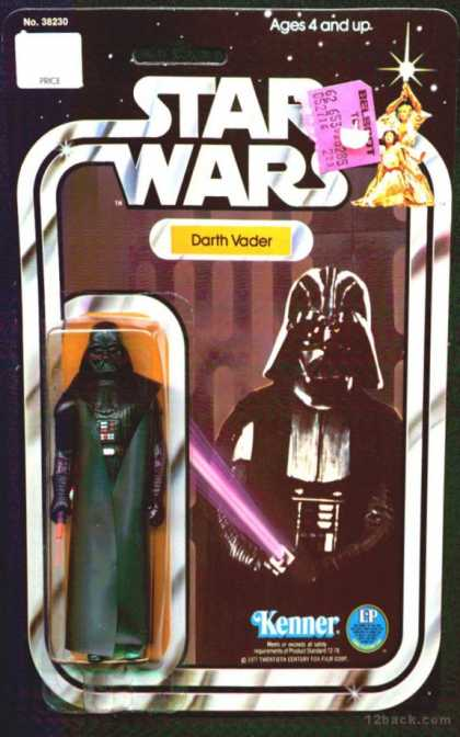 Action Figure Boxes - Star Wars: Darth Vader