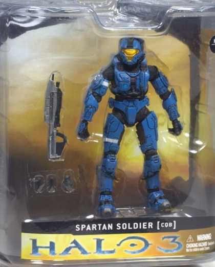Action Figure Boxes - Halo 3: Spartan Soldier Cob