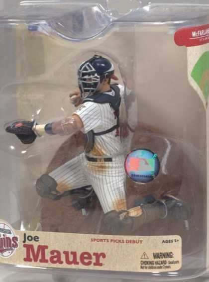 Action Figure Boxes - Baseball: Joe Mauer