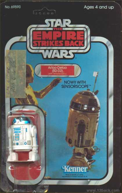 Action Figure Boxes - Star Wars: Artoo-Detoo