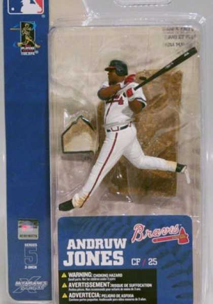 Action Figure Boxes - Baseball: Andruw Jones