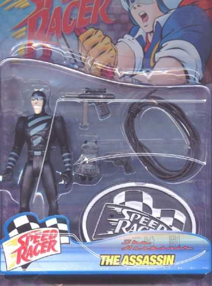 Action Figure Boxes - Speed Racer: The Assassin