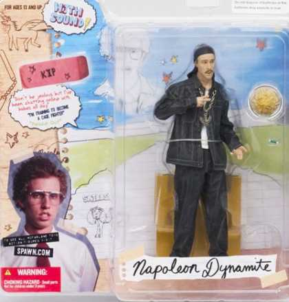 Action Figure Boxes - Napoleon Dynamite: Kip