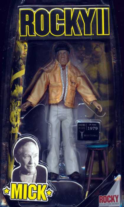 Action Figure Boxes - Rocky: Mick
