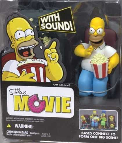 Action Figure Boxes - Homer Simpson