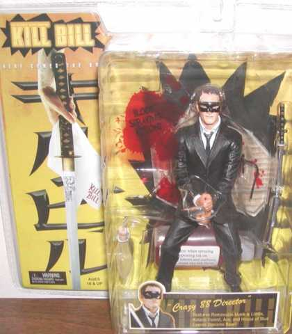 Action Figure Boxes - Kill Bill: Crazy 88 Director