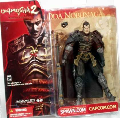 Action Figure Boxes - Onimusha 2: Oda Nobunaga