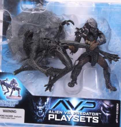Action Figure Boxes - Alien vs Predator