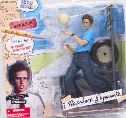 Action Figure Boxes - Napoleon Dynamite