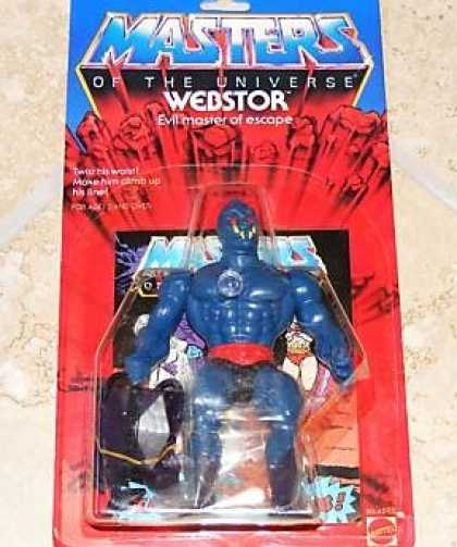 Action Figure Boxes - Masters of the Universe: Webstor