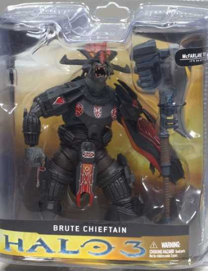 Action Figure Boxes - Halo 3: Brute Chieftain