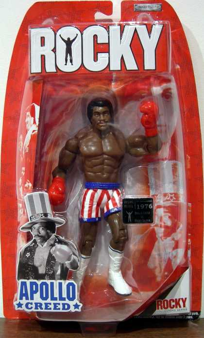 Action Figure Boxes - Rocky: Apollo Creed