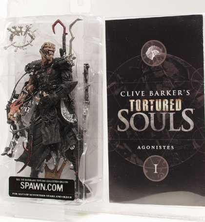Action Figure Boxes - Clive Barker: Agonistes