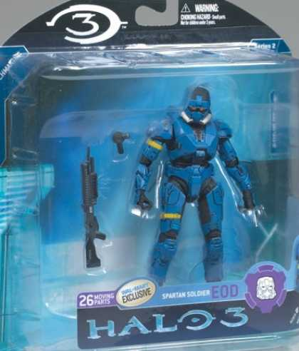 Action Figure Boxes - Halo 3: Spartan Soldier Eod