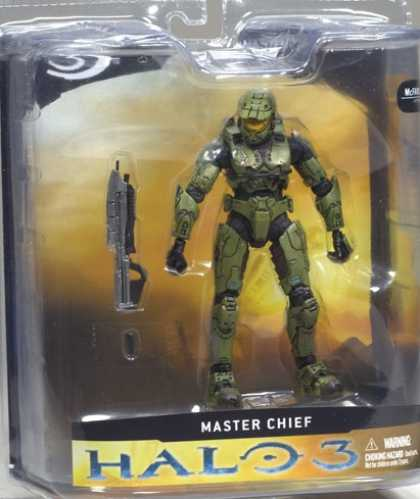 Action Figure Boxes - Halo 3: Master Chief