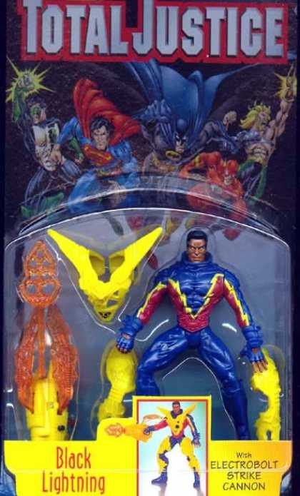 Action Figure Boxes - Total Justice: Black Lightning