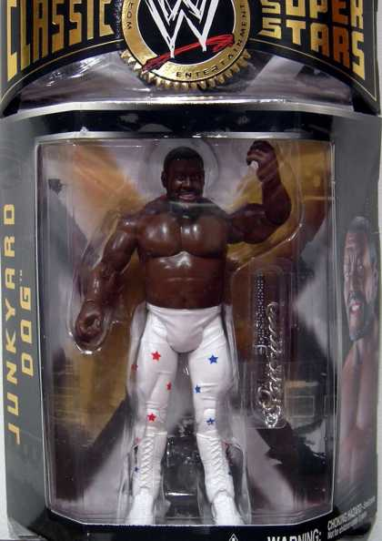 Action Figure Boxes - WWE: Junkyard Dog