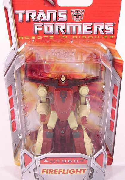 Action Figure Boxes - Transformers: Autobot Fireflight
