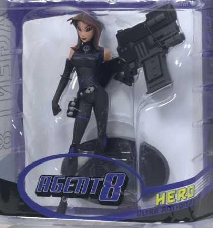 Action Figure Boxes - Agent 8