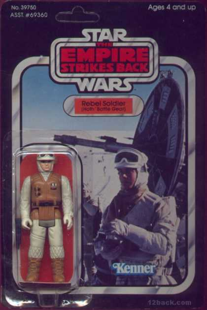Action Figure Boxes - Star Wars: Rebel Soldier