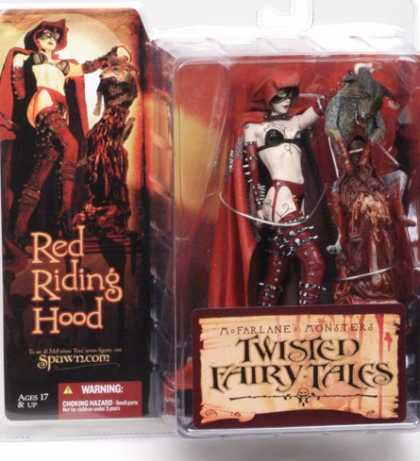 Action Figure Boxes - Twister Fairy Tales: Red Riding Hood