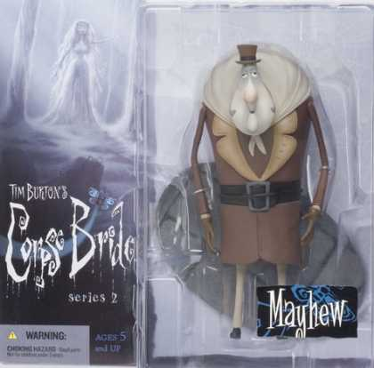 Action Figure Boxes - Tim Burton's Corpse Bride: Mayhew