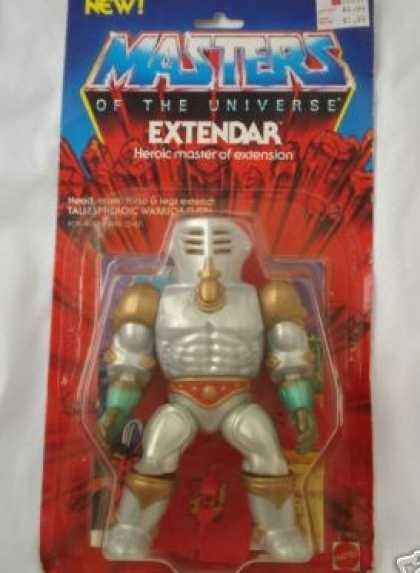 Action Figure Boxes - Masters of the Universe: Extendar