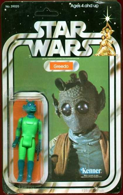 Action Figure Boxes - Star Wars: Greedo