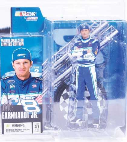 Action Figure Boxes - Nascar: Dale Earnhardt Jr.