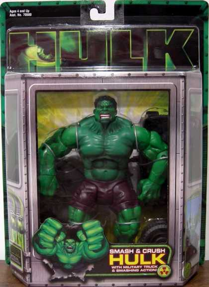 Action Figure Boxes - Hulk
