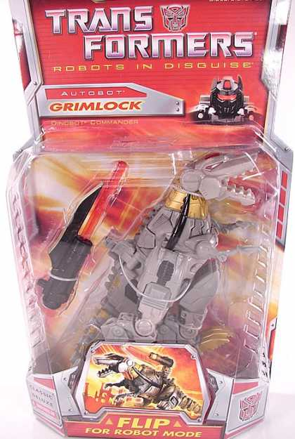 Action Figure Boxes - Transformers: Autobot Grimlock