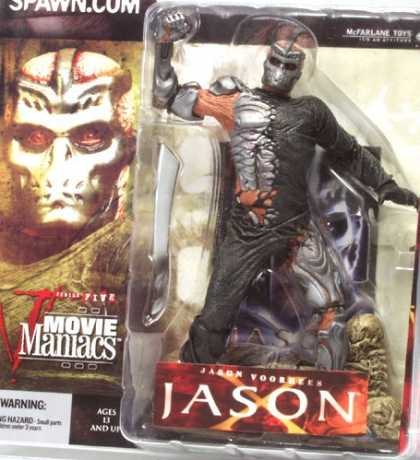 Action Figure Boxes - Movie Maniacs: Jason