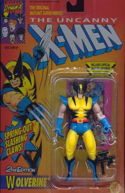 Action Figure Boxes - Wolverine
