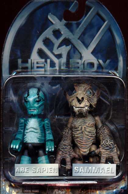Action Figure Boxes - Hellboy: Abe Sapien and Sammael