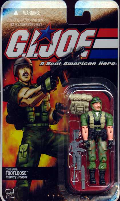 Action Figure Boxes - G.I. Joe: Footloose Infantry Trooper