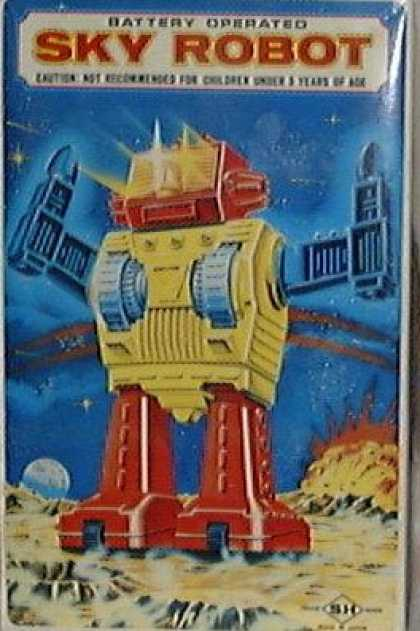Action Figure Boxes - Sky Robot
