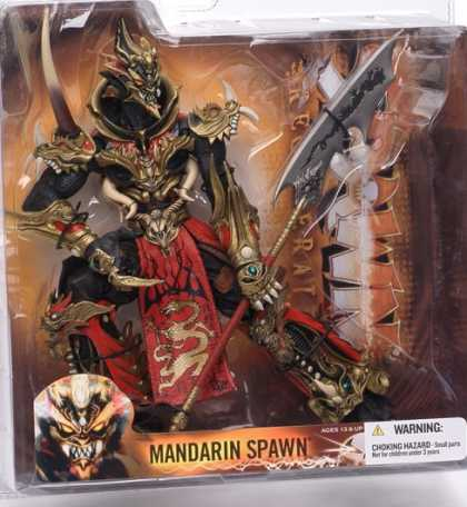 Action Figure Boxes - Mandarin Spawn