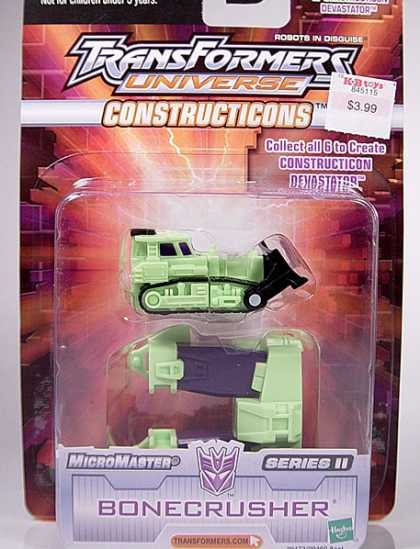Action Figure Boxes - Transformers: Bonecrusher